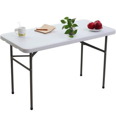 頂堅 4尺寬(桌厚4.5公分)折疊桌/露營桌/野餐桌/拜拜桌-1入/組