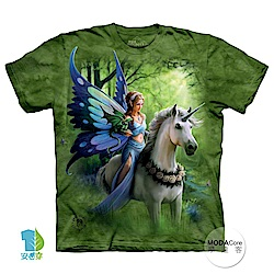 摩達客 美國進口The Mountain 獨角獸仙女精靈 純棉環保短袖T恤