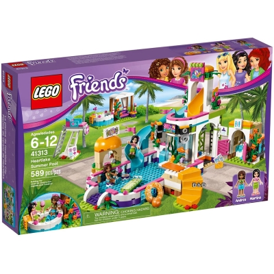 樂高LEGO Friends系列 - LT41313 心湖城夏日游泳池
