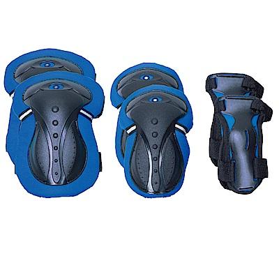 GLOBBER護具組-藍色XS