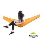 Naturehike 戶外降落傘布輕量單人吊床 橙色