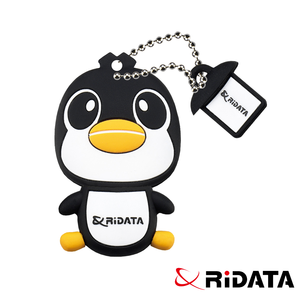 RIDATA錸德 Penguin 企鵝造型款隨身碟 32GB