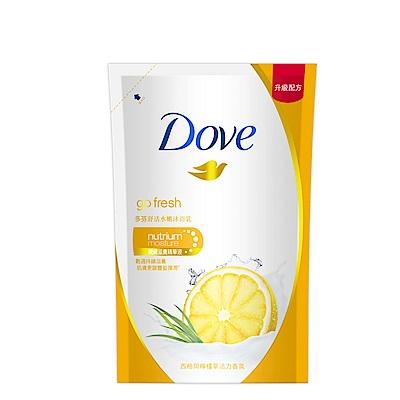 DOVE 多芬 舒活水嫩沐浴乳補充包 650g