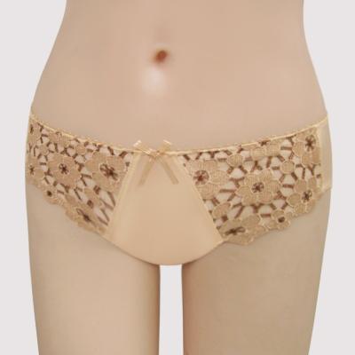 曼黛瑪璉-15AW法式香吻  低腰三角萊克褲(華麗膚)