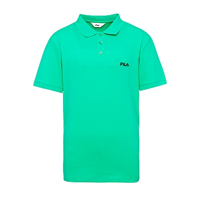 FILA 男款短袖POLO衫-綠 1POS-1510-GN
