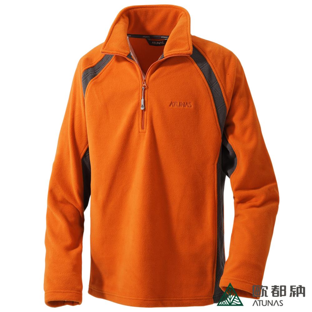 歐都納 A-P1237M 厚Fleece長袖保暖POLO衫