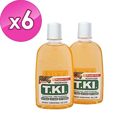 T.KI 蜂膠漱口水 350mlX6組 (共12瓶)
