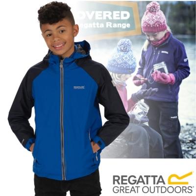 【REGATTA】兒童 超潑反光透氣防風保暖二件式外套/海軍藍