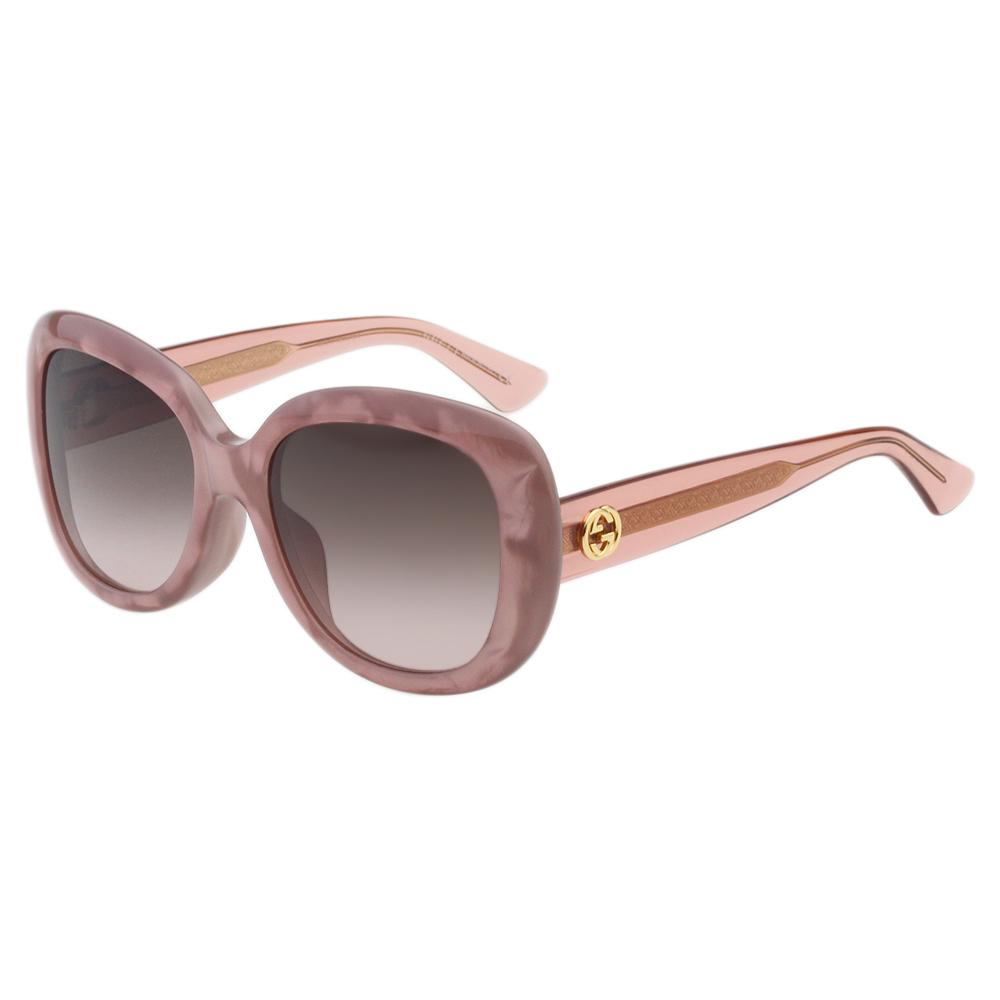GUCCI太陽眼鏡 復古百搭 (粉色)GG3830FS