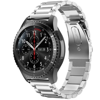 三星 Gear S3 Frontier Classic 三珠式不鏽鋼錶帶