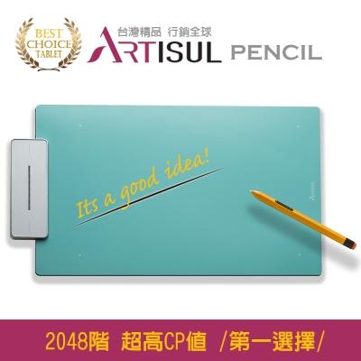 Artisul Pencil Medium繪圖板 (湖水藍)