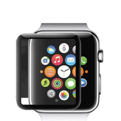 Apple Watch3 3D弧邊 滿版 曲面 鋼化玻璃貼