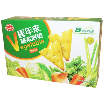 喜年來 蔬菜餅乾(80gx2盒)