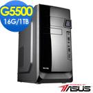 華碩B360平台[赤風戰神]雙核效能電腦