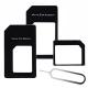高強度原廠保固 Apple Nano / Micro Sim 轉接卡組-2入組 product thumbnail 1