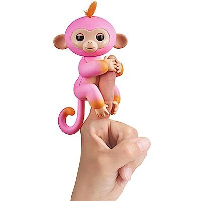 Fingerlings 互動寵物猴 - 時尚撞色版 (粉/橘)