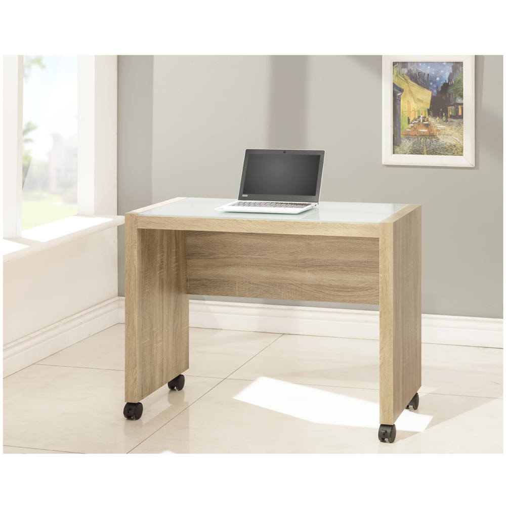全新3D木紋活動電腦書桌-DIY自行組合產品 寬88.4*深40*高68公分