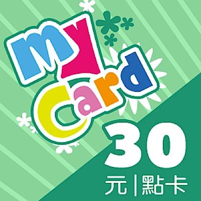 MyCard 30點虛擬點數卡