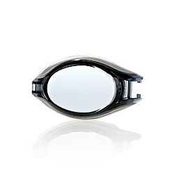 SPEEDO 成人度數泳鏡Pulse銀/灰