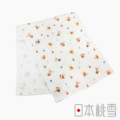 日本桃雪紗布毛巾小小馬戲團(松鼠)