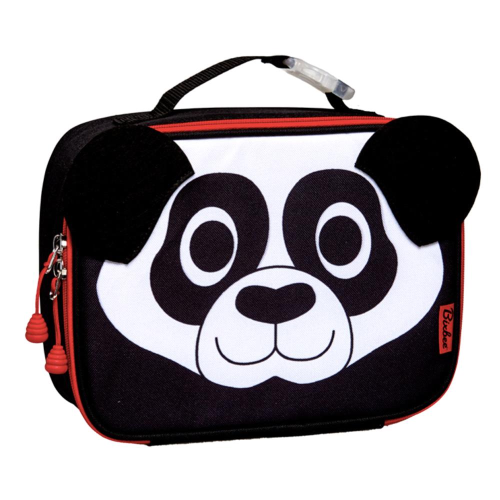 美國Bixbee - 3D動物童趣系列好功夫熊貓保溫提袋