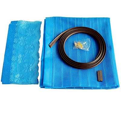 加強型雙磁條磁性吸附防蚊軟紗門簾(D705)