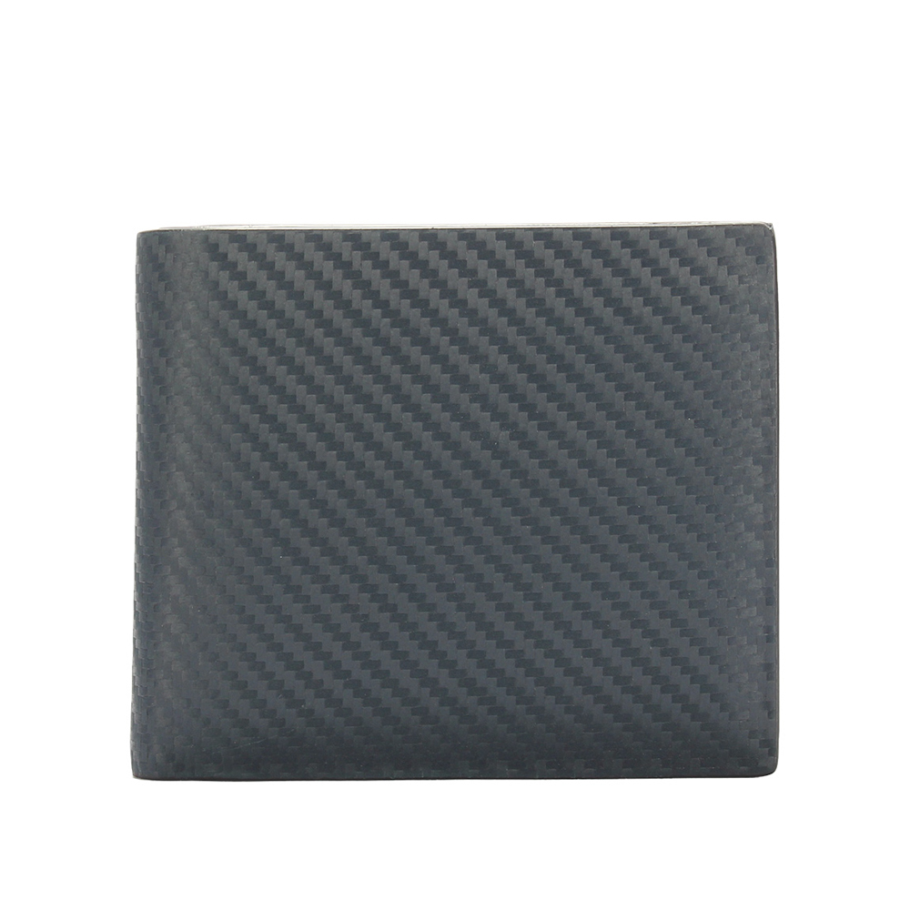 dunhill 經典Chassis碳纖維皮革多卡雙層短夾-深藍