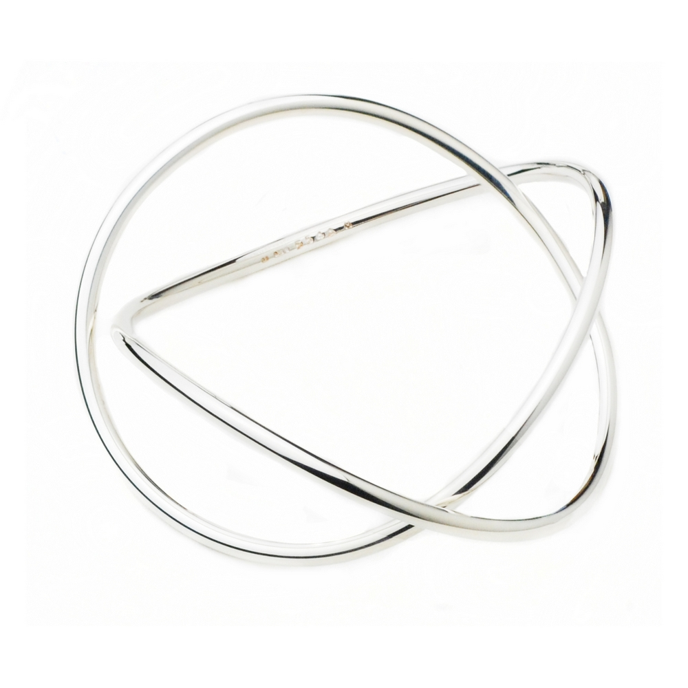 Georg Jensen 554A Alliance 純銀手環 product image 1