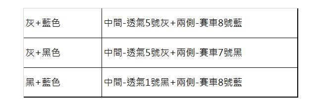 【葵花】量身訂做-汽車椅套-日式針織-賽車流線配色-休旅車-6-8人座款1+2+3排