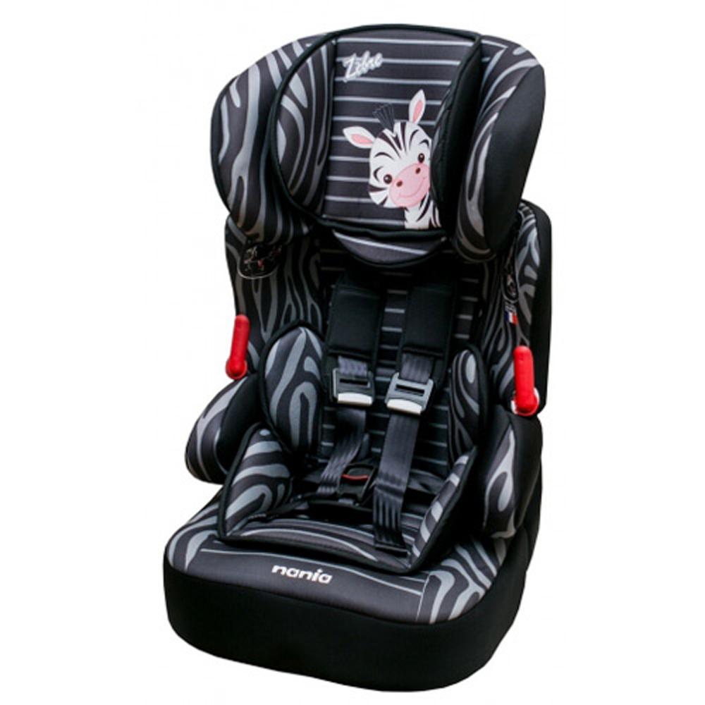 法國NANIA納尼亞旗艦型成長安全汽車座椅