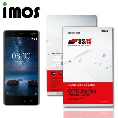 iMos NOKIA 8 3SAS 疏油疏水 螢幕保護貼