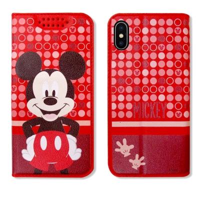 迪士尼正版授權 iPhone X 普普風彩繪手機皮套(米奇)