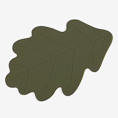 Dailylike 森林樂園造型矽膠隔熱墊-05橡木葉
