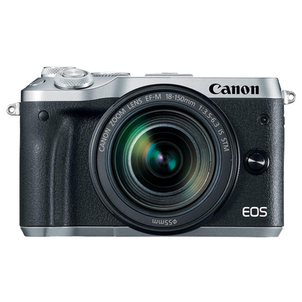 CANON EOS M6+18-150mm IS STM 單鏡組*(平輸中文)-銀色