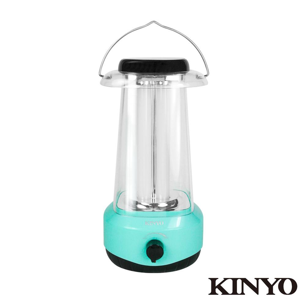 KINYO調光式太陽能多合一露營燈(CP-07)