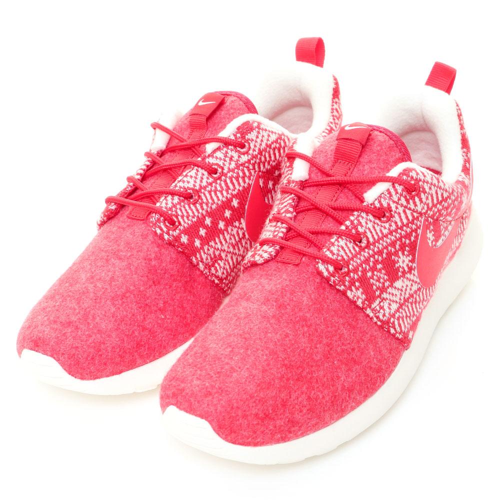 NIKE-ROSHE ONE 女慢跑鞋-紅