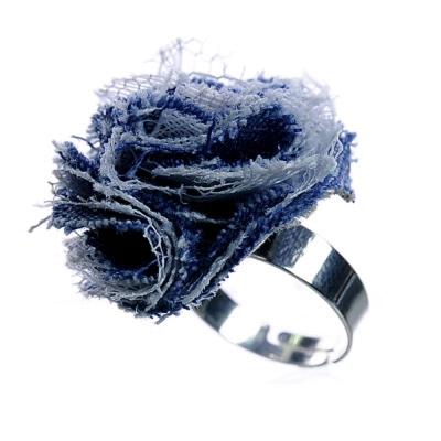 Aimee Toff 深藍海洋清新造型戒指