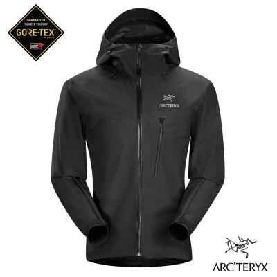 Arcteryx男Gore-Tex防水外套Alpha SL黑