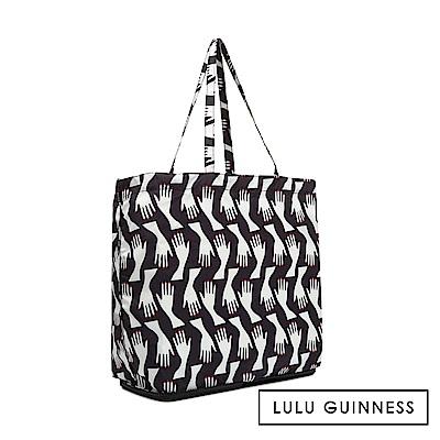 LULU GUINNESS HUG PRINT 收納購物袋