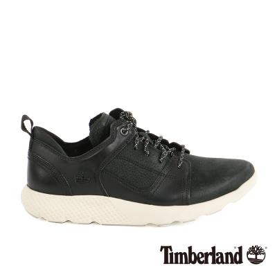 Timberland 男款Fly Roam真皮淺口鞋