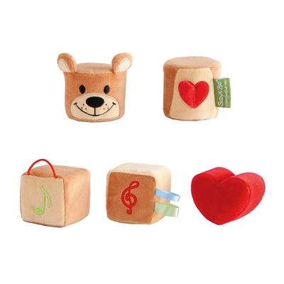 日本People-Suzy's Zoo布玩具系列-五感立體布玩具(0m+)