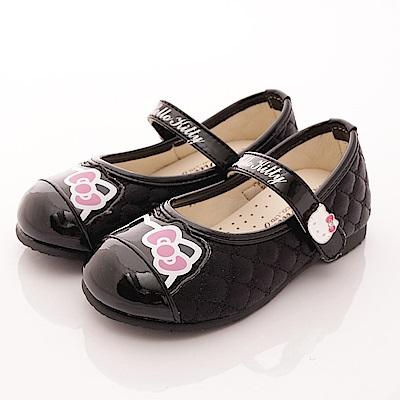 HelloKitty童鞋 晶亮公主款 SE16373 黑 (中小童段)T1