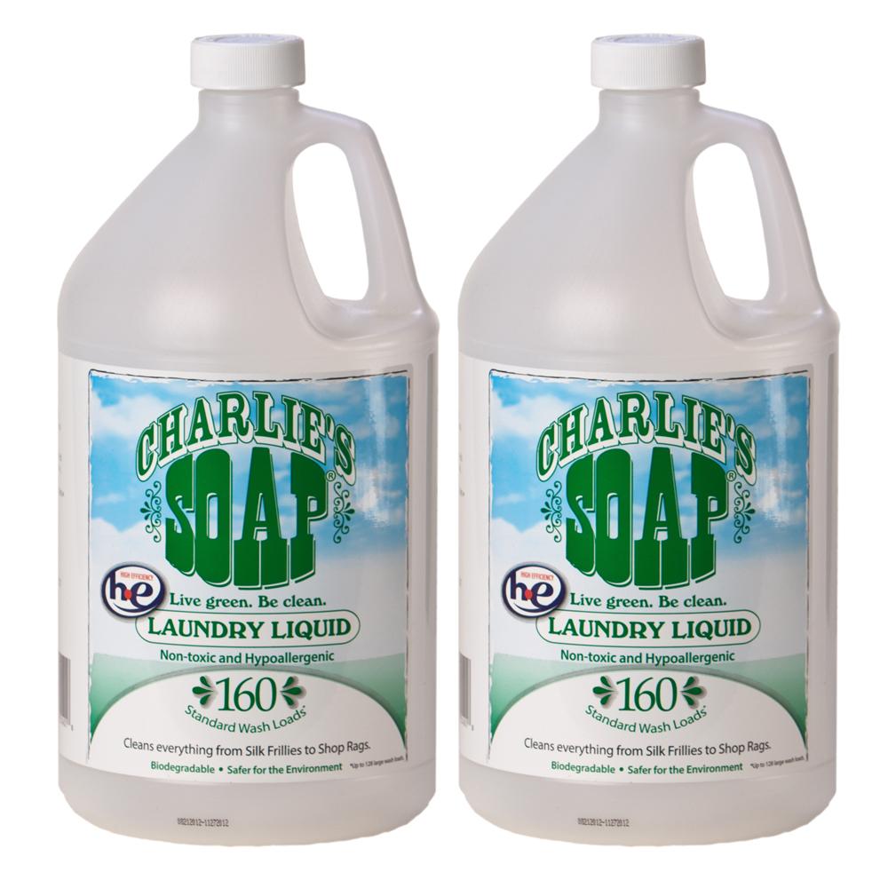 查理肥皂 Charlie s Soap 洗衣精(3.8公升 X 2瓶)