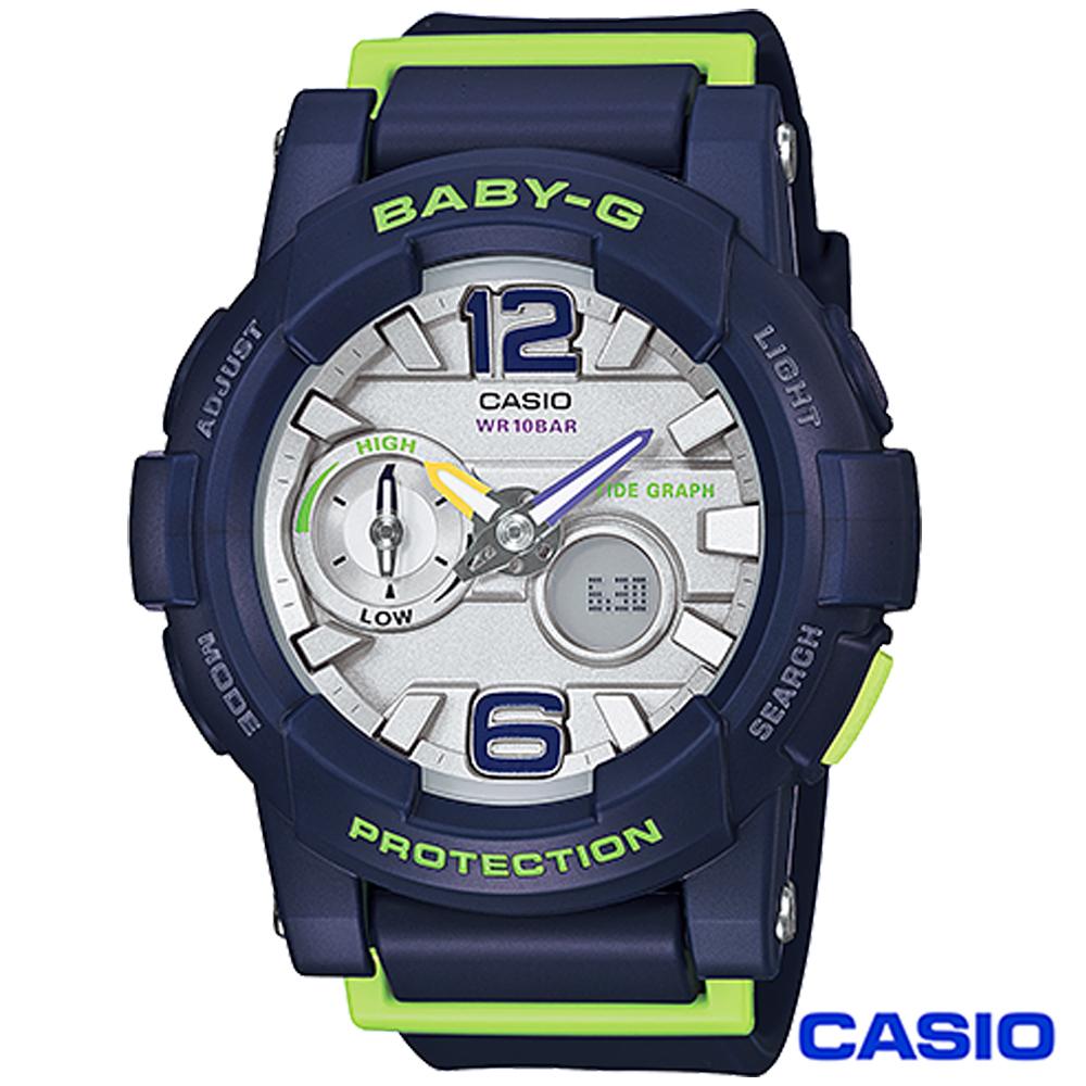 Baby-G 衝浪極限運動錶(BGA-130-2B)-藍/44mm