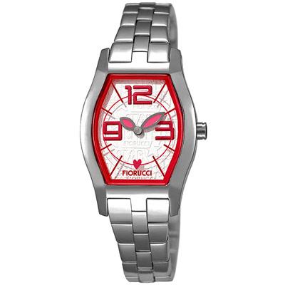 FIORUCCI 新維多利亞時尚腕錶(紅/23mm)