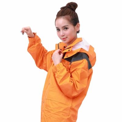 BrightDay風雨衣兩件式-超人氣日本款-橘