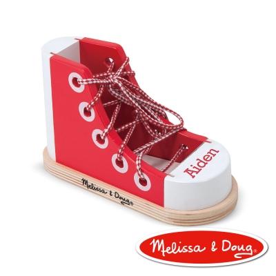 美國瑪莉莎 Melissa & Doug 益智 - 綁鞋帶練習鞋