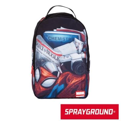 SPRAYGROUND MARVEL 聯名系列 彼得帕克的日常 潮流筆電後背包