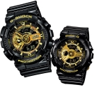 G-SHOCK&BABY-G組合狂派變形金剛重型休閒錶&多層次機械酷感女孩