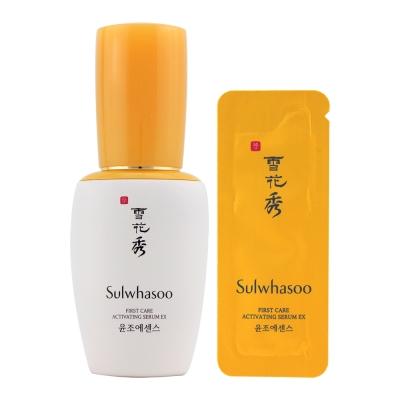 Sulwhasoo雪花秀 潤燥精華EX30ml 0.6ml